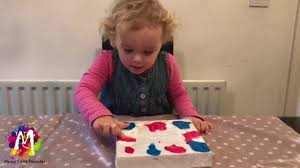 easy art ideas for kids no mess cling film painting fun