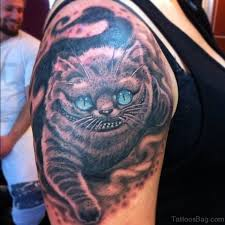 77 wonderful cat tattoos on shoulder