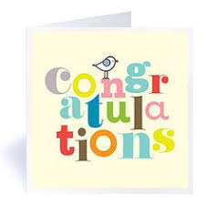 congratulations on new card luck in your new venture greeting card business