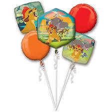 balloon bouquest the lion guard balloon bouquet