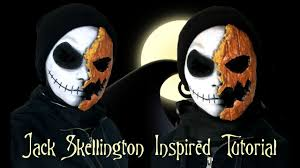 disney in makeup nightmare before christmas jack skellington
