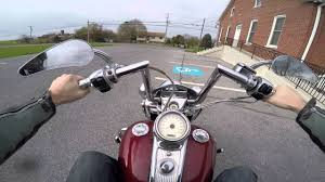 2004 harley davidson road king custom test drive review youtube