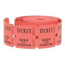 raffle tickets raffle tickets ebay