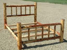 Cabin Bed Frame Log Bed Frame Best 10 Log Bed Frame Ideas On Pinterest Log Bed