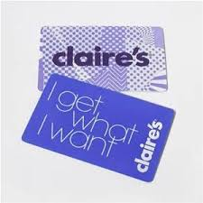 claires gift card gift cards at claires retail stores online