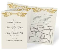 How To Make Wedding Programs How To Put A Map On Your Wedding Invitations Paperdirect Blog