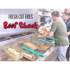 get fresh cut fries cut and cooked to perfection at beef shack
