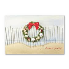 pumpernickel press greeting cards seacoast style cards with seashell wreath http