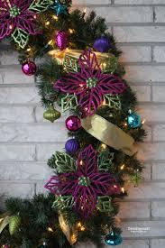 doodlecraft sparkly ornament christmas wreath