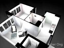 3d plan for two bedroom flat apartment 2 bedroom house plans 3d