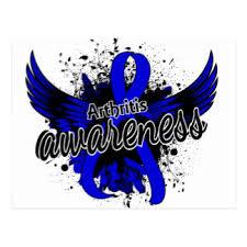ra ribbon support ra awareness cards zazzle