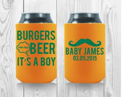 baby shower koozies 66 best baby shower koozies images on shower ideas