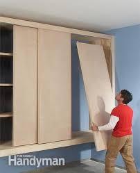 Sliding Door Storage Cabinet by Best 25 Garage Storage Cabinets Ideas On Pinterest Garage