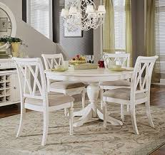 Best  White Round Tables Ideas On Pinterest Round Dinning - Round pedestal dining table in antique white