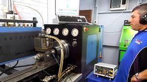 cmx 20 cr 12 fuel pump test bench youtube