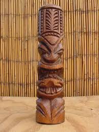 polynesian wood carving wood statue clipart clipground