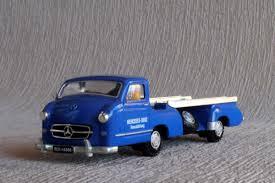 mercedes shop uk conrad 1034 mercedes renntransporter in blue 1 43 scale
