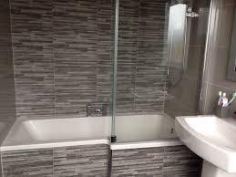Bathroom Shower Suites Sale L Shaped Bath Screen Tiles Bathroom Ideas Pinterest Bath