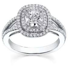 cushion cut split shank engagement rings split shank engagement rings