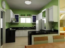 kitchen style green color of wall paint green kitchens color