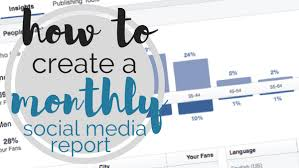 media caign template monthly social media report template 100 images how to do a