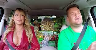 mariah carey carpool karaoke christmas special with james corden