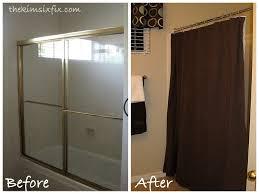 Shower Curtain Door Removing Sliding Glass Shower Doors Flashback Friday The