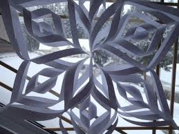 snowflake decorations cool easy 6 pointed snowflake easy tutorials and