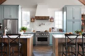 joanna gaines painted kitchen cabinets green best fixer kitchen designs from joanna gaines