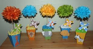 Baby Shower Centerpiece Ideas by Animal Baby Shower Decorations Sorepointrecords