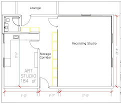 Detached Garage Floor Plans by John Sayers U0027 Recording Studio Design Forum U2022 View Topic Detached