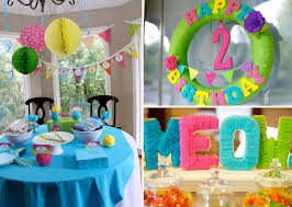 Decoration For Party At Home Astounding Simple Decoration For Birthday Party 21 About Remodel