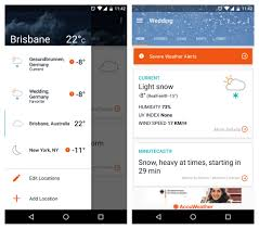 accuweather android app accuweather fails to predict response to botched material