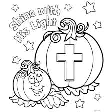 Shine His Light Free N Fun Halloween From Oriental Trading Light Coloring Page