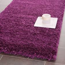 purple and pink area rugs safavieh california solid shag area rug or runner walmart com