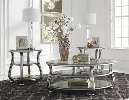 table sets for living room ashley furniture coralayne 3pc coffee table set round coffee