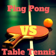 ping pong vs table tennis ping pong vs table tennis different or the same