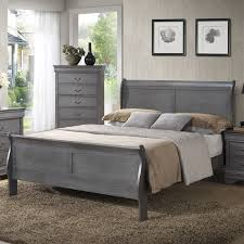 White Queen Sleigh Bed Paint My Old Green Furniture Gray For Guest Room Wildon Home