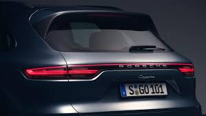 Porsche Cayenne Redesign - world premiere of the new cayenne in zuffenhausen