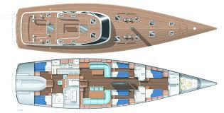 yacht floor plans lady g yacht layout baltic yachts sail superyachts com