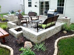 Simple Brick Patio With Circle Paver Kit Patio Designs And Ideas by Patio Ideas Paver Patio Designs And Cost Paver Patio Designs