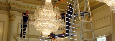 Chandelier Removal Chandelier Cleaning And Restoration Services
