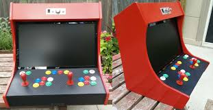 Turn A Coffee Table Into An Awesome Two Player Arcade Cabinet by Build A Bartop Arcade