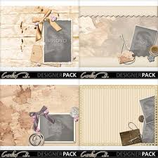 8x11 photo album digital scrapbooking kits paper 8x11 album 4 carolnb