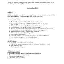 sample cover letter for accounting job resume for accountant