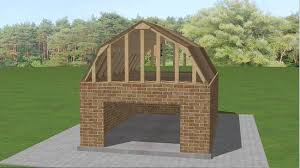 Gambrel Style Roof How To Build A Gambrel Roof 7 Steps With Pictures Wikihow