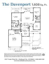 Brookfield Homes Floor Plans by Brookfield Homes Waverly Floor Plan
