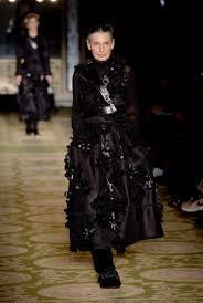 Clothes For 70 Year Olds Simone Rocha Fights Ageism As 70 Year Old Models Walk In Her Aw17 Show