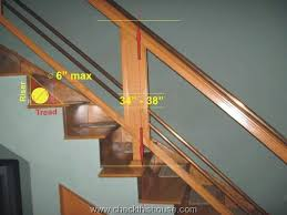 stair handrails and guardrails safety issues u2013 checkthishouse