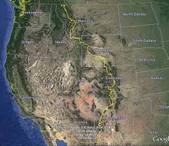 Google Maps Montana Continental Divide Overland Epic Route Overland Bound Community